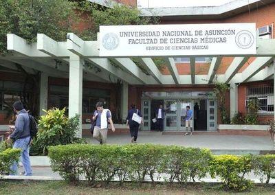 Facultad de Medicina oreko 190 temimbo'e pyahu
