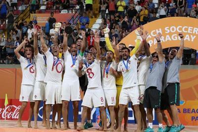 Portugal se consagra ganador de la Beach Soccer World Cup 2019