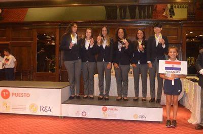 Paraguay es de bronce en golf