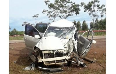 Dos niños fallecieron en terrible accidente en San José de los Arroyos