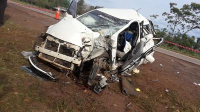 Exceso de velocidad y el mal estado de la ruta deja como saldo dos niños fallecidos