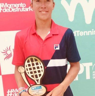 Martín Vergara gana su primer campeonato internacional en la categoría 18 años
