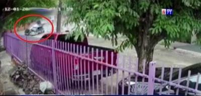 Video muestra choque fatal sobre la Transchaco
