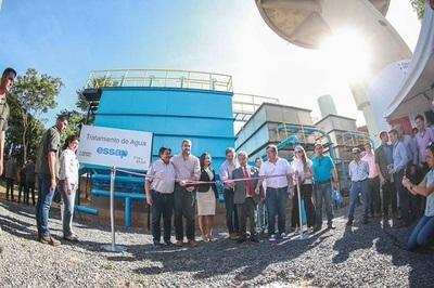 Gobierno inaugura plantas de tratamiento y garantizan suministro de agua para el verano