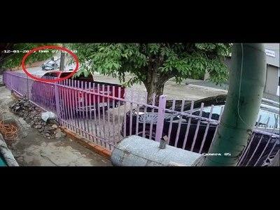 VIDEO CAPTA ACCIDENTE QUE DEJÓ CUATRO MUERTOS EN ASUNCIÓN