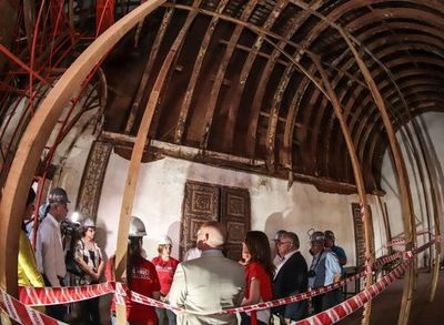 Sacristía de la iglesia de Yaguarón será restaurada