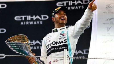 """Lewis Hamilton: """"Orgulloso y agradecido"""""""
