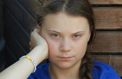 Critican a Greta Thunberg por aparecer en un sillón de cuero animal de 6.000 dólares