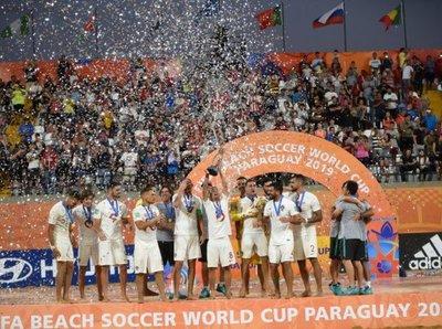 Portugal derrotó a Italia y se consagró campeón mundial de fútbol de playa