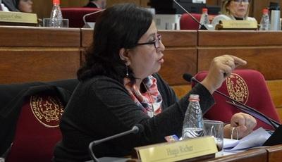Esperanza Martínez defiende banca dejada por Payo para el Frente Guasú