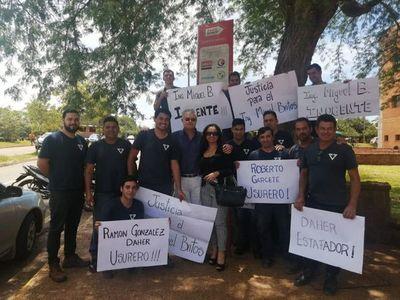 Absuelven de culpa y pena a una de las tantas víctimas de González Daher