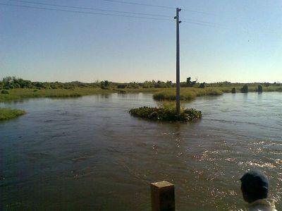 Alerta amarilla okakuaa haguére río Pilcomayo Bolivia-pe