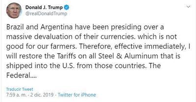 Guerra comerical salpica al Mercosur