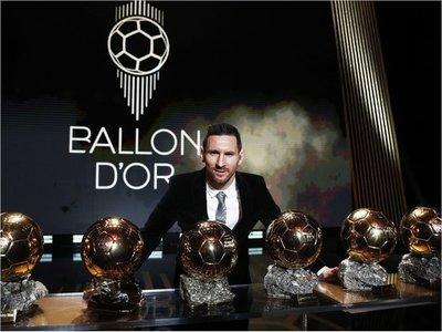 Seis veces Messi
