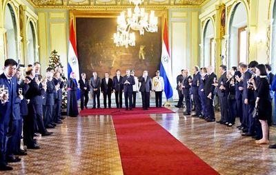 Diplomáticos valoran lucha contra crimen organizado