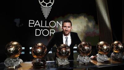 Messi hizo historia con la obtención de su sexto Balón de Oro