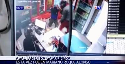 En 20 segundos roban un surtidor en Mariano Roque Alonso
