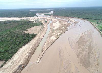 Alerta en la cuenca alta del Pilcomayo por la entrada agua.