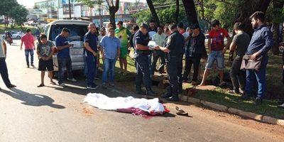 Mujer muere arrollada en el km 3,5 de CDE