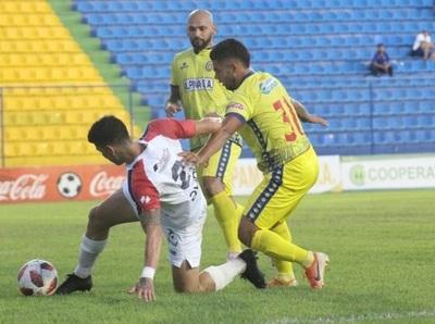 Nacional y Deportivo Capiatá empatan sin goles