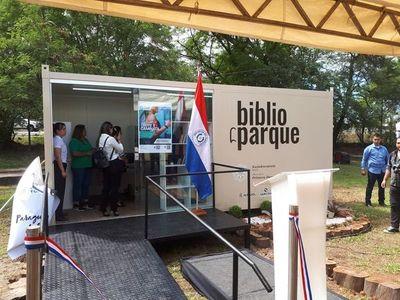 "Habilitan ""BiblioParque"" en Ñu Guasú"