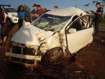 Dos niños pierden la vida en accidente