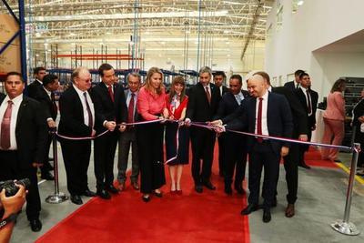 Inauguran empresa de autopartes Kromberg & Shubert