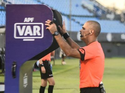 El VAR en la final de la Copa Paraguay