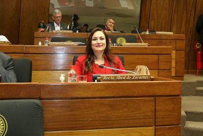 Rocío Abed ya ocupa la banca de Ulises Quintana