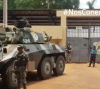 Enfrentamientos entre reclusos de la cárcel de CDE deja dos heridos