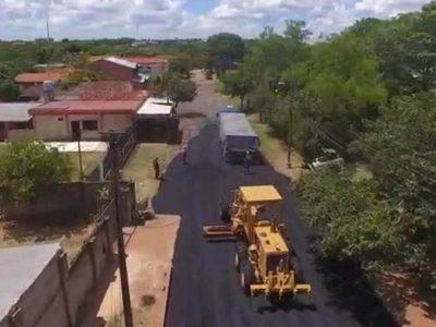 Informan que continúa trabajos para mejoramiento de avenida De la Victoria