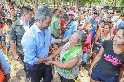 Mario Abdo Benitez estará en Itapúa