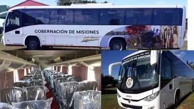 La Gobernación de Misiones adquirió un nuevo bus
