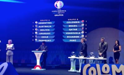 HOY / Forman grupos para la Copa América del año próximo
