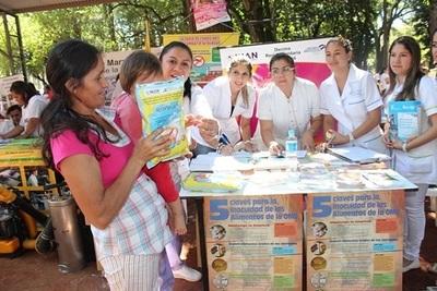 Ministerio de Salud provee de más de 5.500 kilos de leche enriquecida en el Chaco