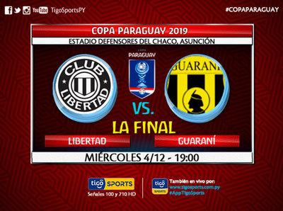 Libertad y Guaraní definen al dueño de la Copa de todos