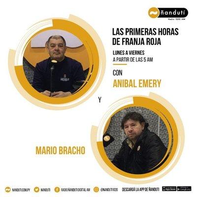 Las primeras noticias de Franja Roja con Aníbal Emery y Mario Bracho