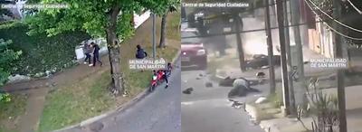Asalto a paraguaya en Argentina termina en un fatal accidente