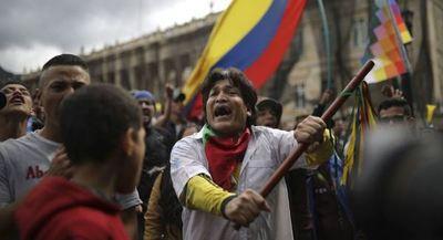 Los colombianos regresan a las calles de Bogotá en una nueva oleada de protestas