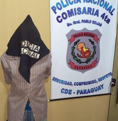 Borracho amenazó con machete a su ex pareja y terminó detenido