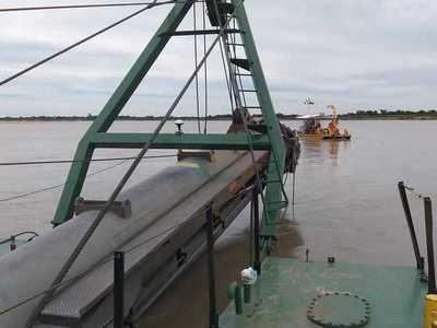 Mejorar la navegabilidad del Río Paraná es prioridad para el Gobierno