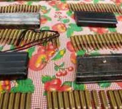 Hallan cientas de balas de grueso calibre en Concepción