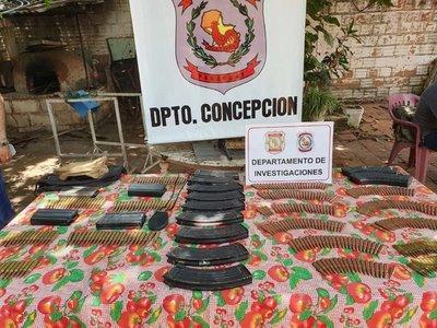 Policía incauta municiones y cargadores en una vivienda