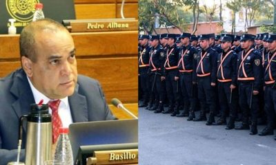 """Basilio Núñez: """"casi 350 policías están con el sector político"""""""