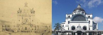 Caacupé quería una réplica de la Basílica de San Pedro