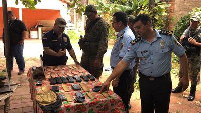 Incautan municiones para armas largas en Concepción