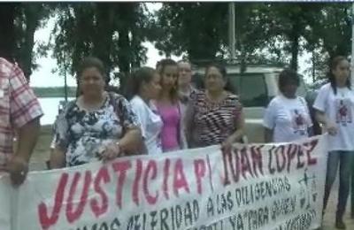 Repercusión de EXPEDIENTES: Familia pide justicia.