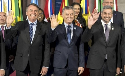 HOY / Abdo viaja al Brasil para asumir presidencia pro témpore del Mercosur