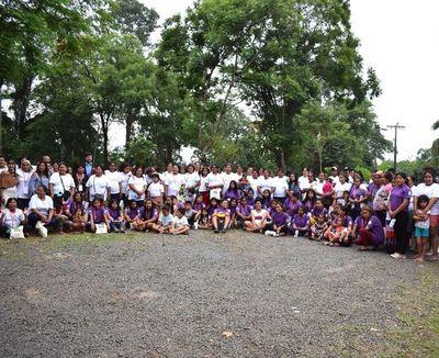 Encuentro de mujeres indígenas en Luque contra  discriminación