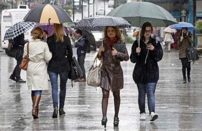 Lluvias y tormentas persisten el día de hoy